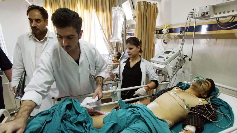 Flüchtlinge, Arzt, Medizin, Syrien