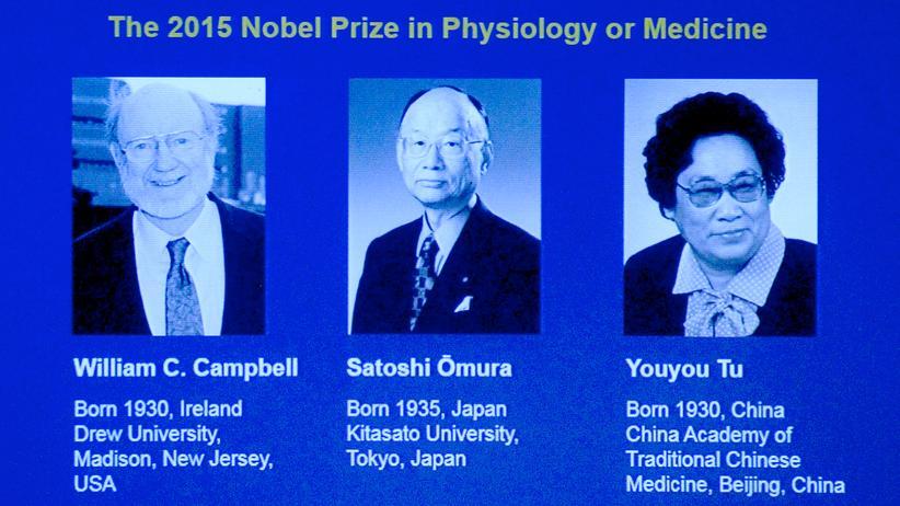 Nobelpreis: Parasiten-Forscher erhalten Medizin-Nobelpreis