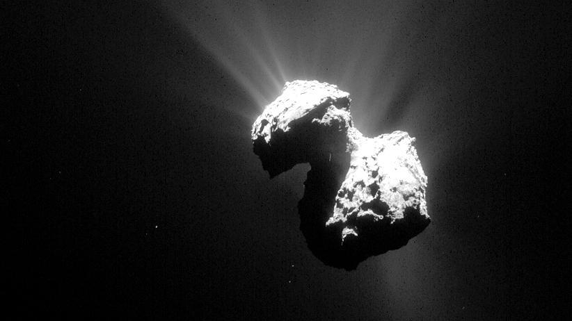 Rosetta-Mission: Komet Tschuri haut noch einen raus