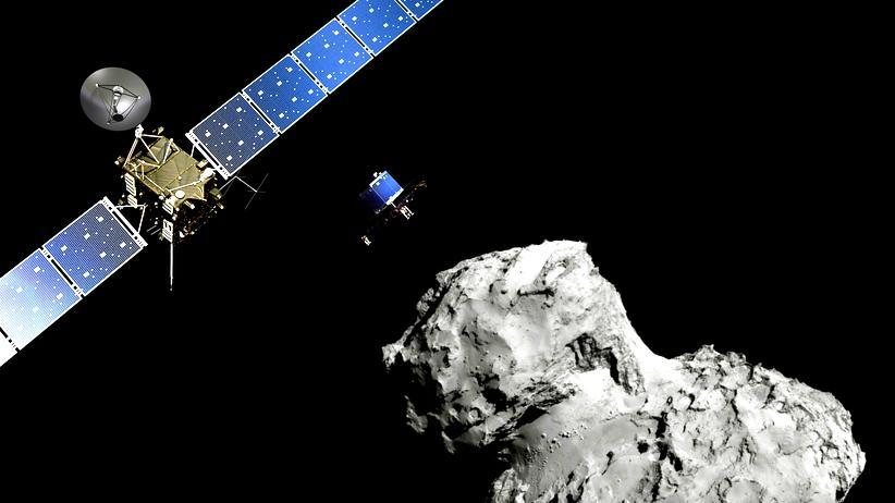 Rosetta-Mission: Dreiecksbeziehung im All? Nicht einfach