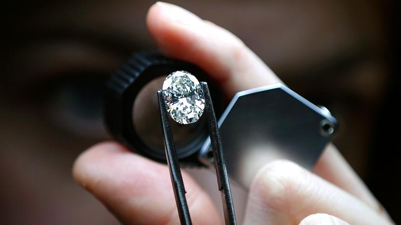 Diamant Diamanten Materialforschung Schmuck Kohlenstoff
