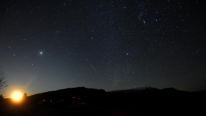 Geminiden Ursiden Sternschnuppe Weltraum Meteor