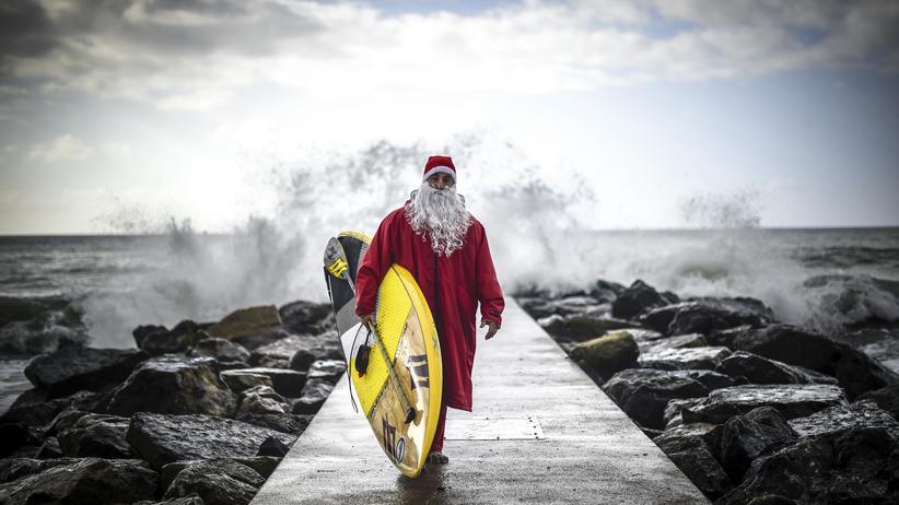 Weihnachten Surfen Italien Urlaub