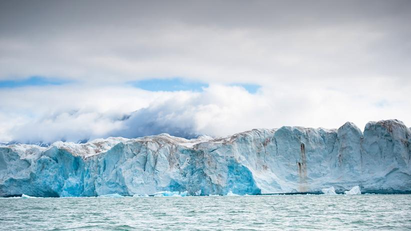 Klimawandel: Der Kongsbreen-Gletscher im norwegischen Kongsfjord