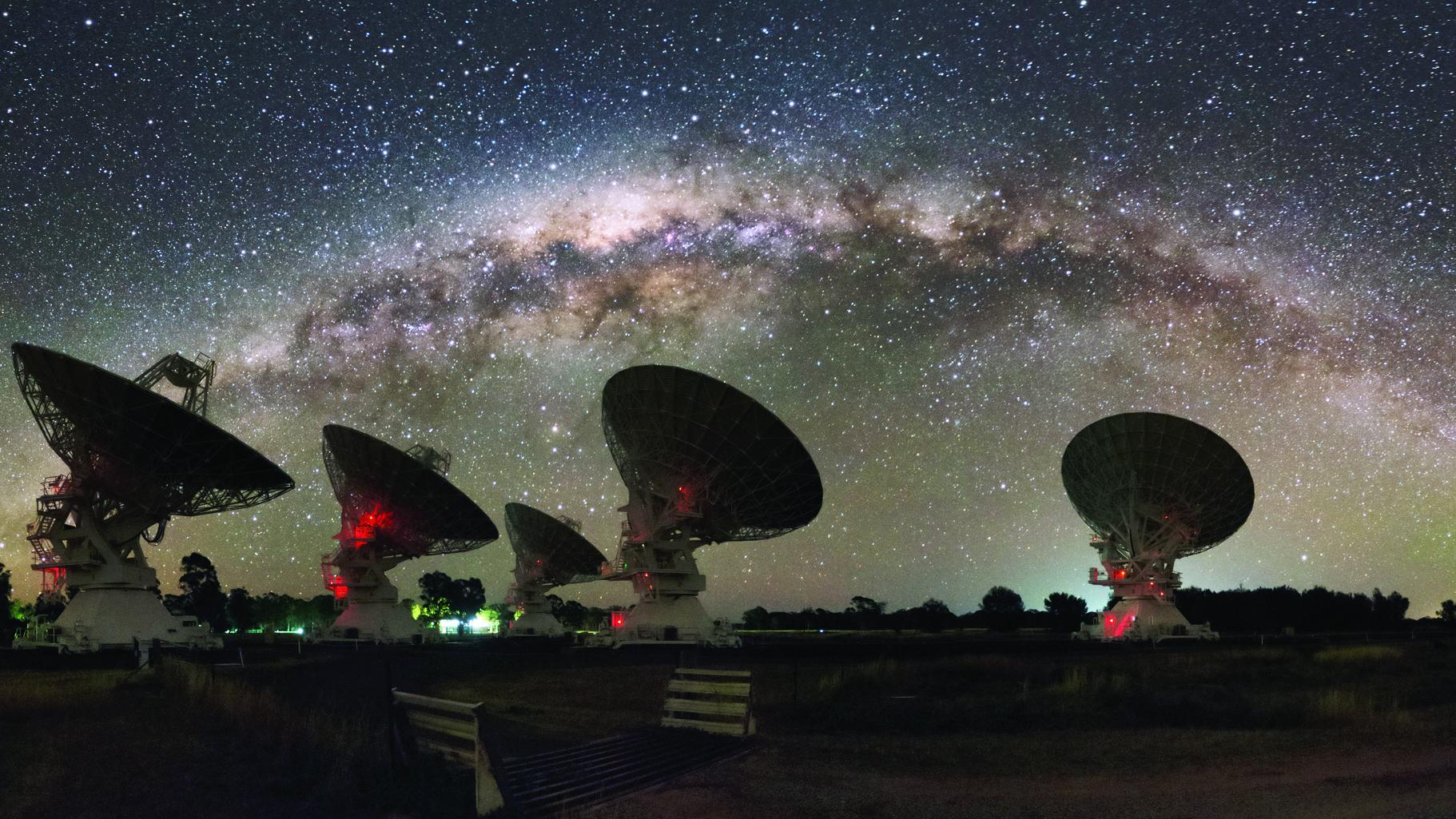 Blitznachricht aus einer fernen Galaxie