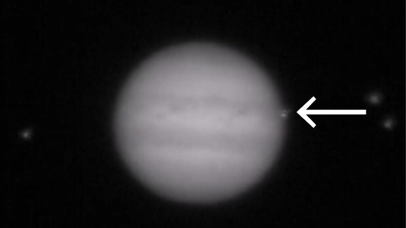 Astronomie: Und dann schlug da noch was in den Jupiter ein