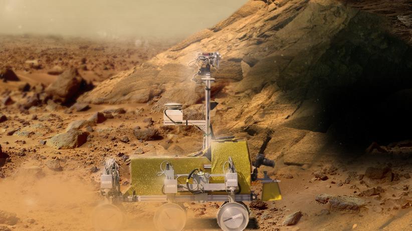 Raumfahrt: Heute wird mit Mars-Autos gespielt