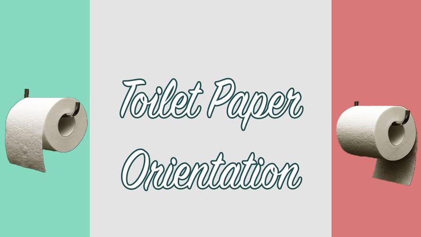 Badezimmer-Wissenschaft: Wie Sie das Toilettenpapier abrollen sollten