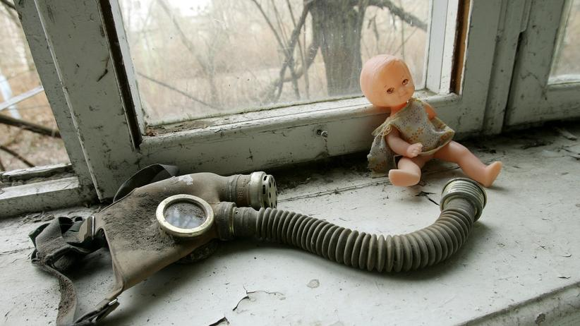 Tschernobyl: Überreste des Super-GAU.
