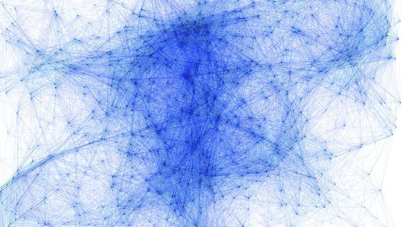 Mathematik komplexer Graph Netzwerk