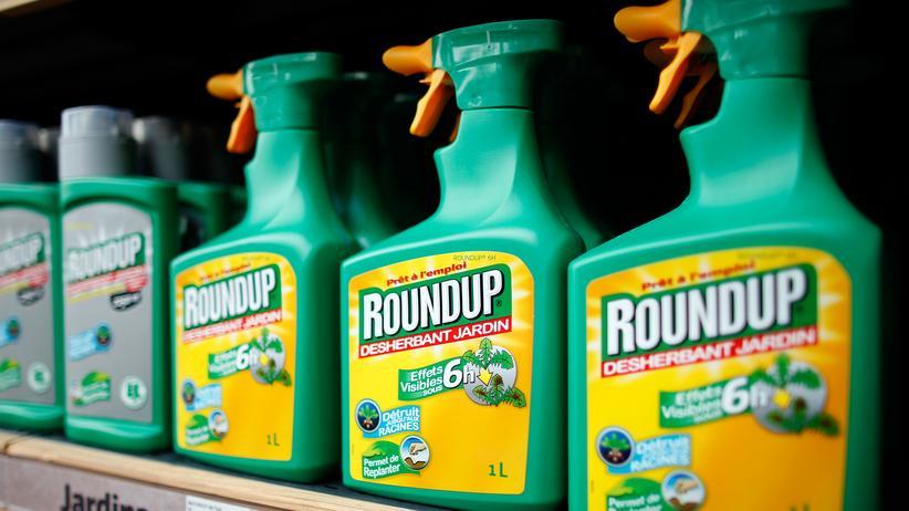 Glyphosat Pflanzenschutzmittel Gift Chemikalie Monsanto EU