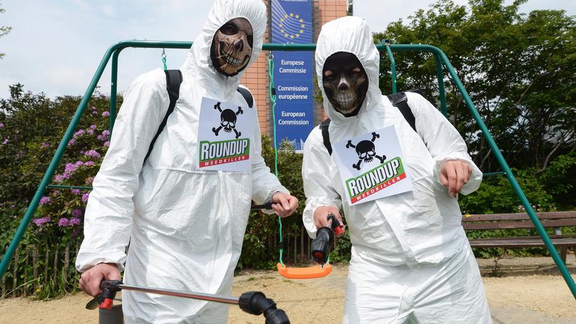 Glyphosat Pflanzengift EU Umweltschutz