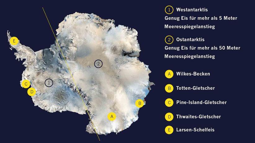 Klimawandel: Den Physikern dämmert: Die Antarktis ist anfälliger für den Klimawandel als gedacht. Und das hat Folgen für den Meeresspiegel.