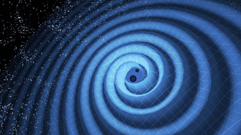 Gravitationswellen Schwarzes Loch Weltraum Physik Einstein