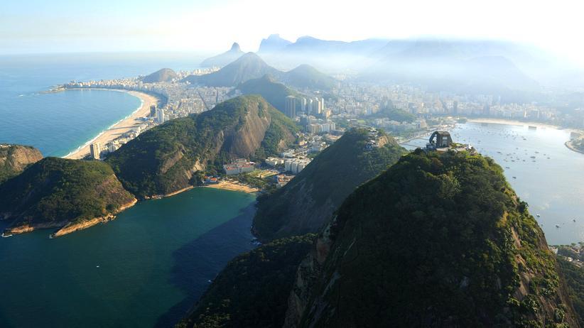 Brasilien Rio de Janeiro Zuckerhut Pflanzen