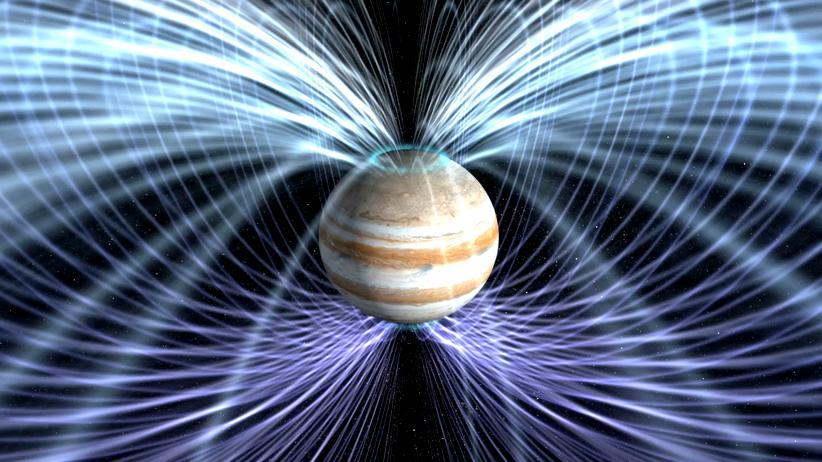 Jupiter Juno Raumsonde Nasa Magnetfeld Kern Planet
