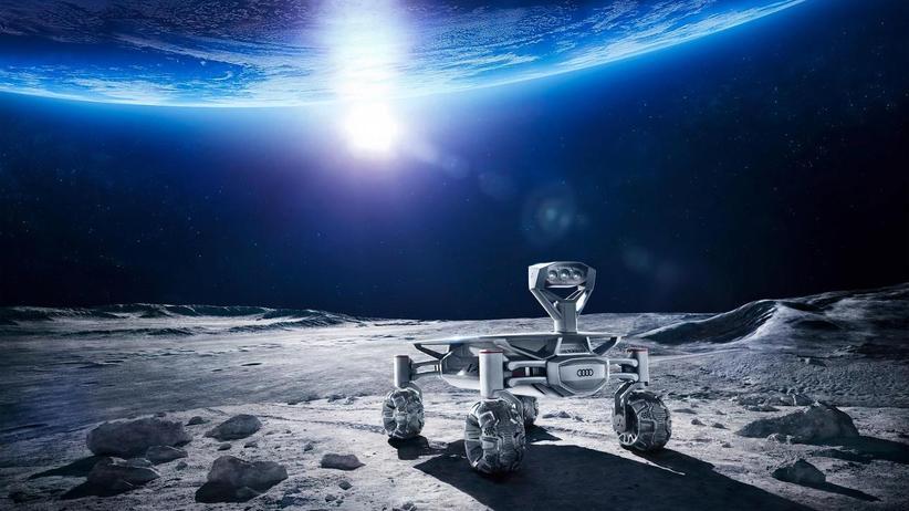 Raumfahrt: Bloß einmal auf dem Mond umherfahren!
