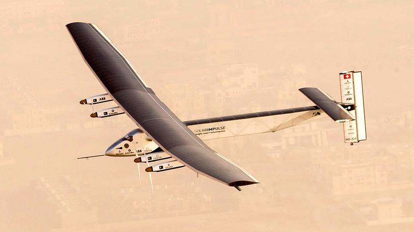 Solar Impulse Flugzeug Solartechnik Luftfahrt