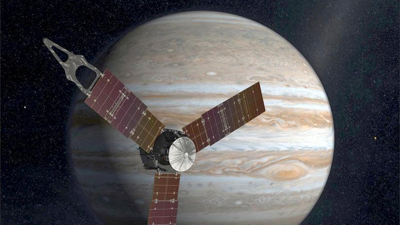 Jupiter-Mission: Der Mensch kratzt am Jupiter