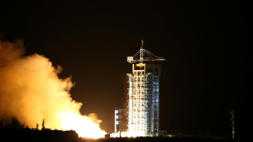 China Satellit Quantensatellit Kommunikation Weltraum