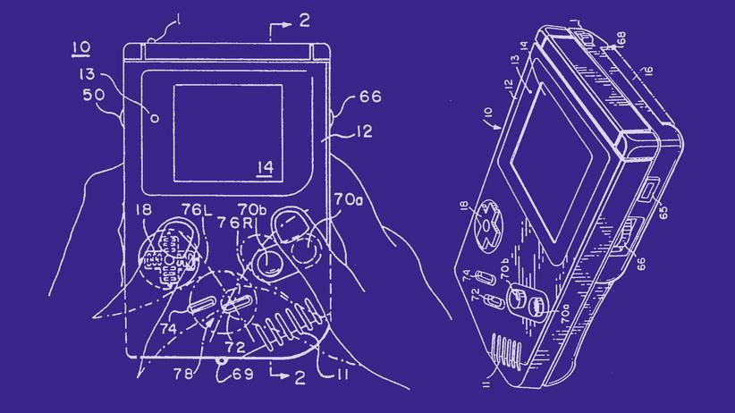 Patente, Erfindungen, Skizzen