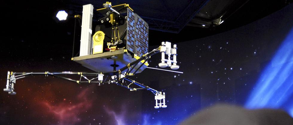 Rosetta-Mission, Philae, Tschuri
