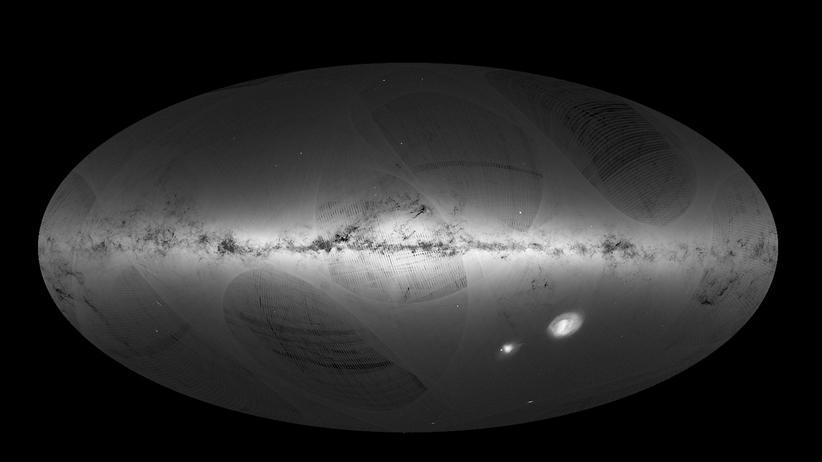 Weltraumteleskop Gaia: Die Milchstraße gibt's nun in 3-D