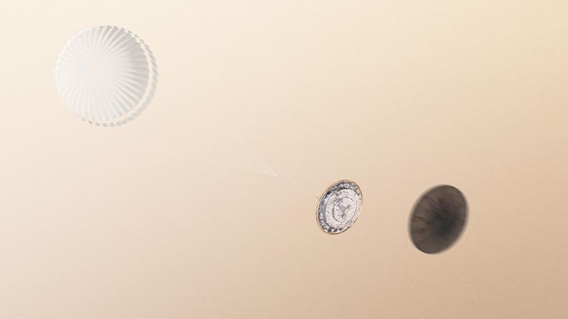 ExoMars Schiaparelli Mars Landung Esa Roskosmos