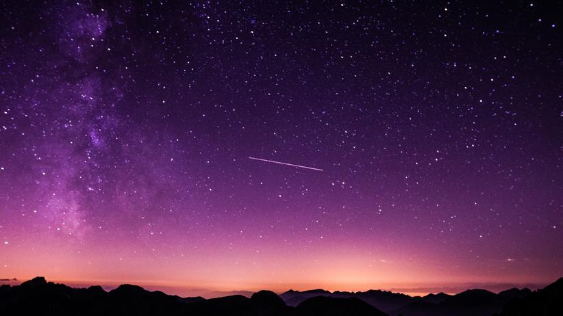 Sternschnuppen Schwarm Leoniden Wetter Himmel Astronomie