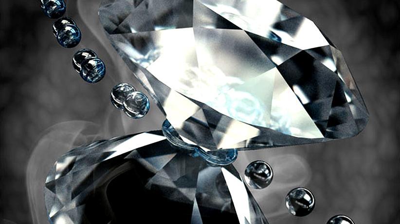 Physik Materialforschung Metallischer Wasserstoff Diamant