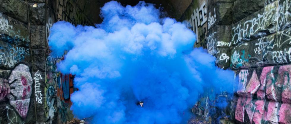 Rauch Feinstaub Luft Luftverschmutzung