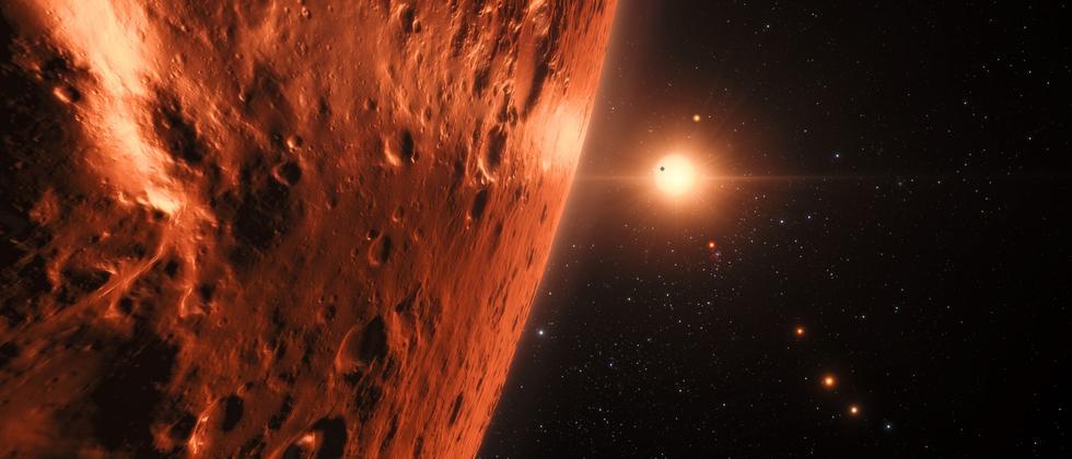 Sonnensystem Trappist-1 Planeten Exoplaneten Universum