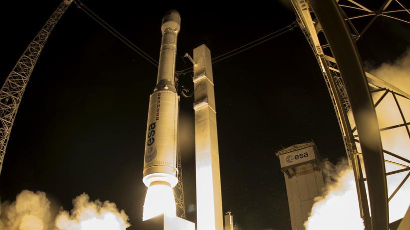 Sentinel-2B: Ich versteh nur Weltraumbahnhof
