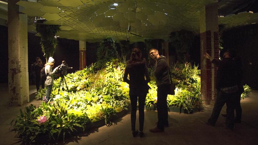 Untergrundpark New York: Das Lowline Lab zeigt, wie der erste Untergrundpark der Welt aussehen könnte.