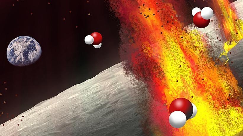 Mond Wasser Sonnensystem Sonde Indien Chandrayaan-1