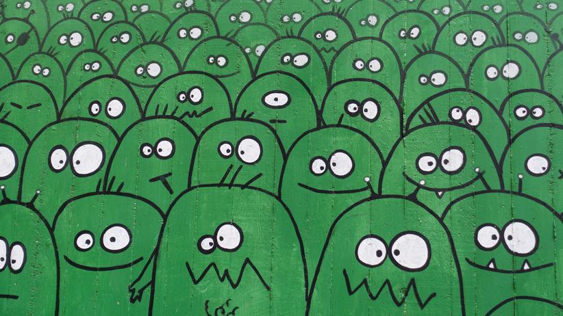 Suche nach Außerirdischen: Grüne Männchen? Wenn eins in der Erforschung von möglichen Außerirdischen ziemlich sicher ist, dann, dass sie nicht so aussehen.