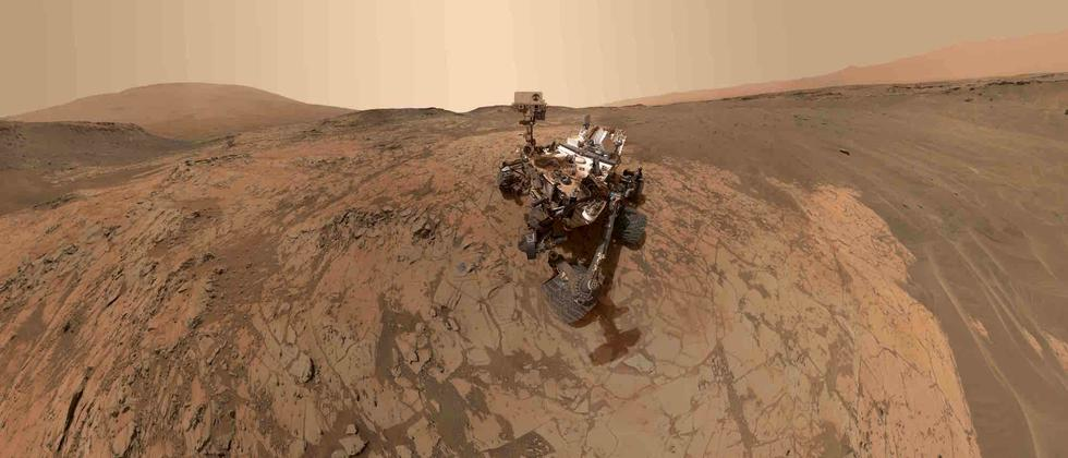 Curiosity Rover Roboter Mars Roter Planet