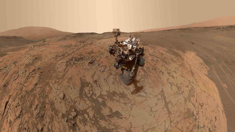 Curiosity: Karriereknick auf dem Mars