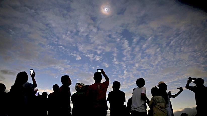 Sonnenfinsternis: Montag ging die Sonne aus