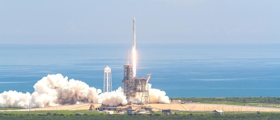 Nasa Kennedy Space Center Launchpad 39A Falcon9 Rakete Start