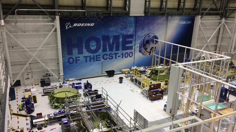 Boeing Kennedy Space Center CST-100 Starliner Raumschiff