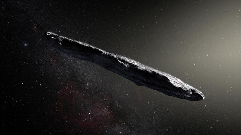 """Asteroid """"A/2017 U1"""": Der erste Besucher aus einem anderen Sonnensystem"""