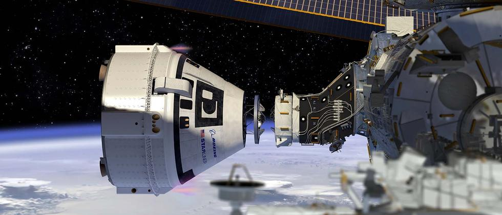 Starliner ISS Boeing Raumfähre