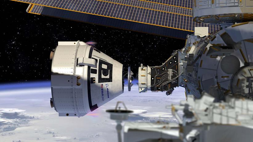 Human Spaceflight: What a docking of Boeing's Starliner to the International Space Station will look like.