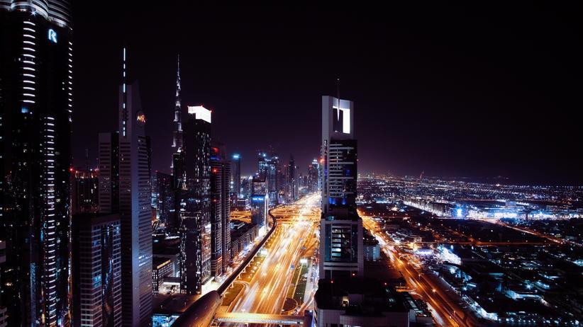 Zukunft: Die Skyline von Dubai scheint aus der Zukunft zu kommen.