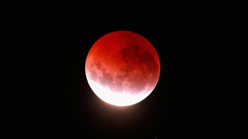 Mond: Es ist Super-Blue-Blood-Moon! Bitte, was?