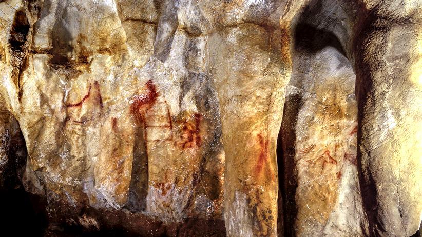 Frühmenschen: Was Neandertaler so gemalt haben? Das hier!