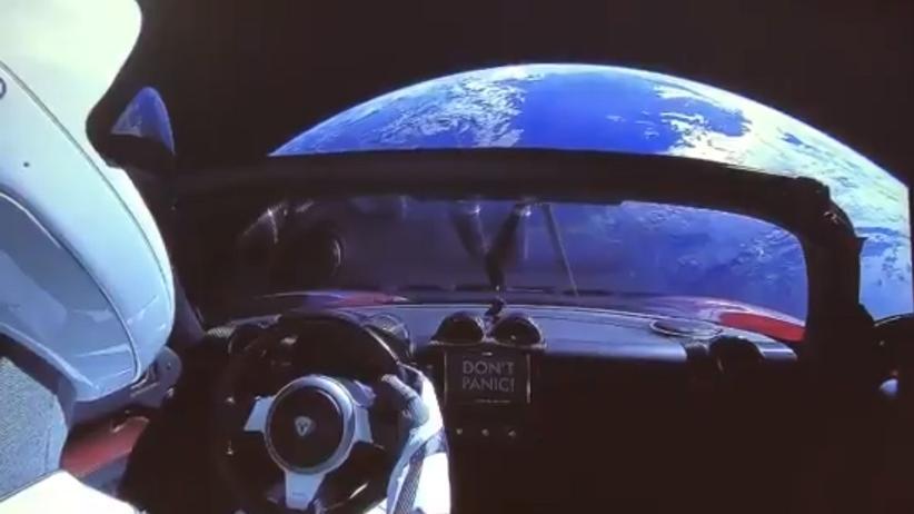 Falcon Heavy: Abgewrackt im All
