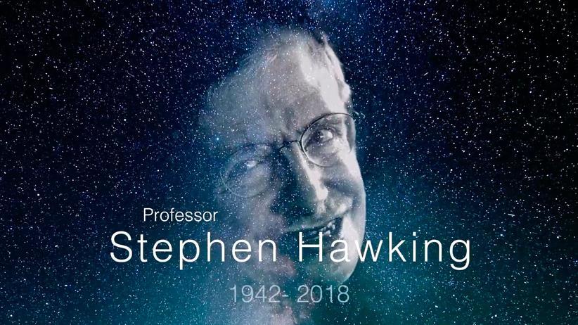 Astrophysiker: Das ist Stephen Hawkings letzte Botschaft an die Welt