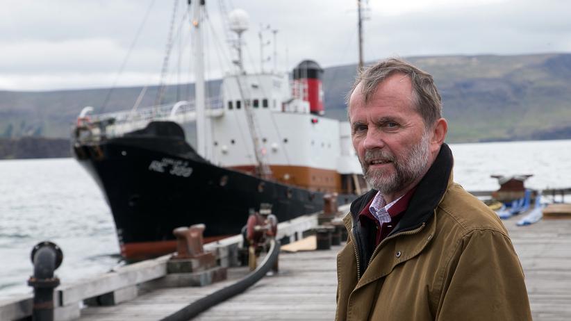 Walfänger: Der Mann, der aus Walen Pulver machen will